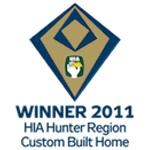 Winner 2011 HIA-CSR Hunter Housing Awards: Custom Built Home
