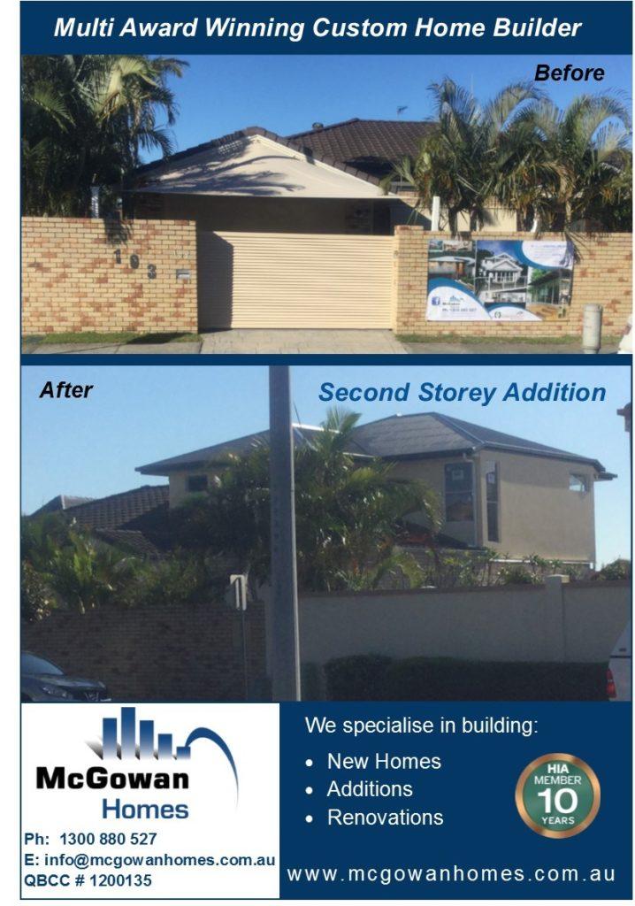 Second Storey Addition – Runaway Bay