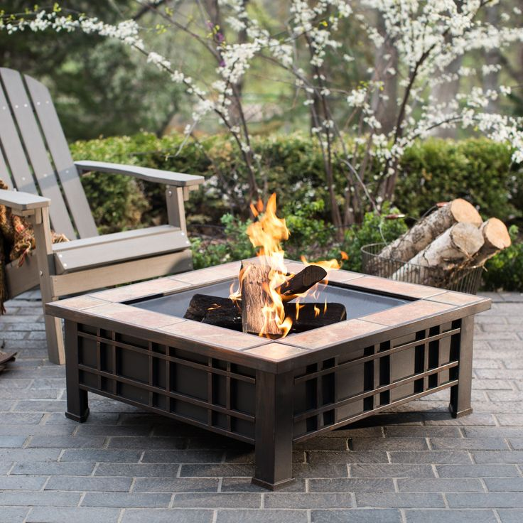 Outdoor living rooms for winter