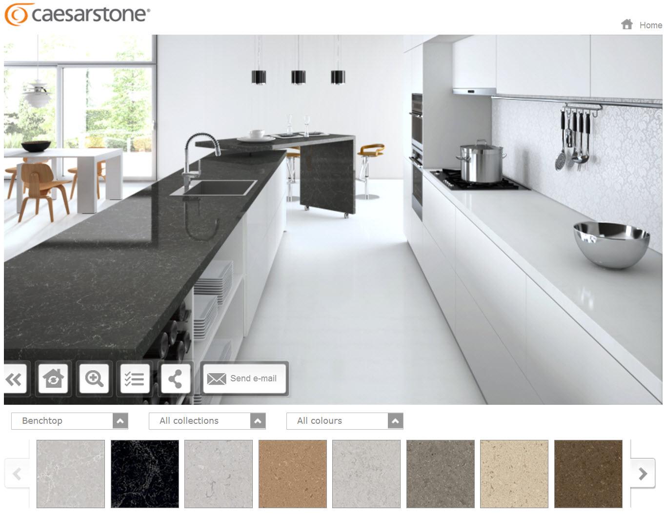 Caesarstone Launches New Online Visualiser App McGowan Homes