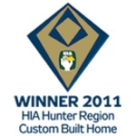 Winner 2011 HIA-CSR Hunter Housing Awards Custom Built Home