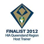Finalist 2012 HIA-CSR Queensland Region Housing Awards: Host Trainer