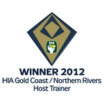 Winner 2012 HIA-CSR Gold Coast / Northern Rivers Housing Awards: Host Trainer