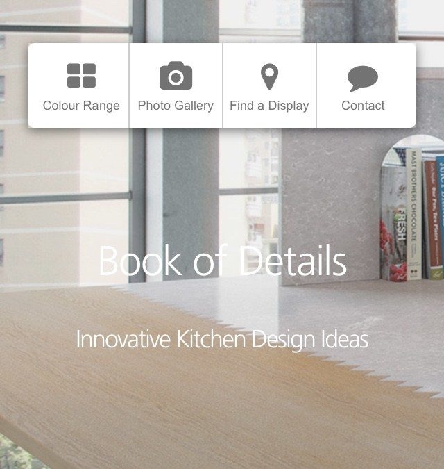 Looking for Innovative Kitchen Design Ideas – Check out Caesarstone Book of Details