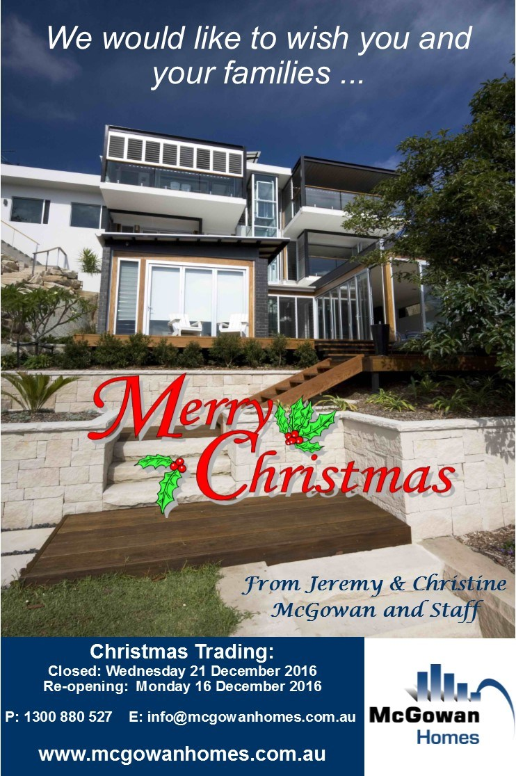 Merry Christmas from McGowan Homes