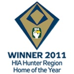 Winner 2011 HIA-CSR Hunter Housing Awards Hunter Home of the Year